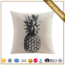 Guangzhou customize pineapple baby cushion bean bag bed with blanket pillow built in