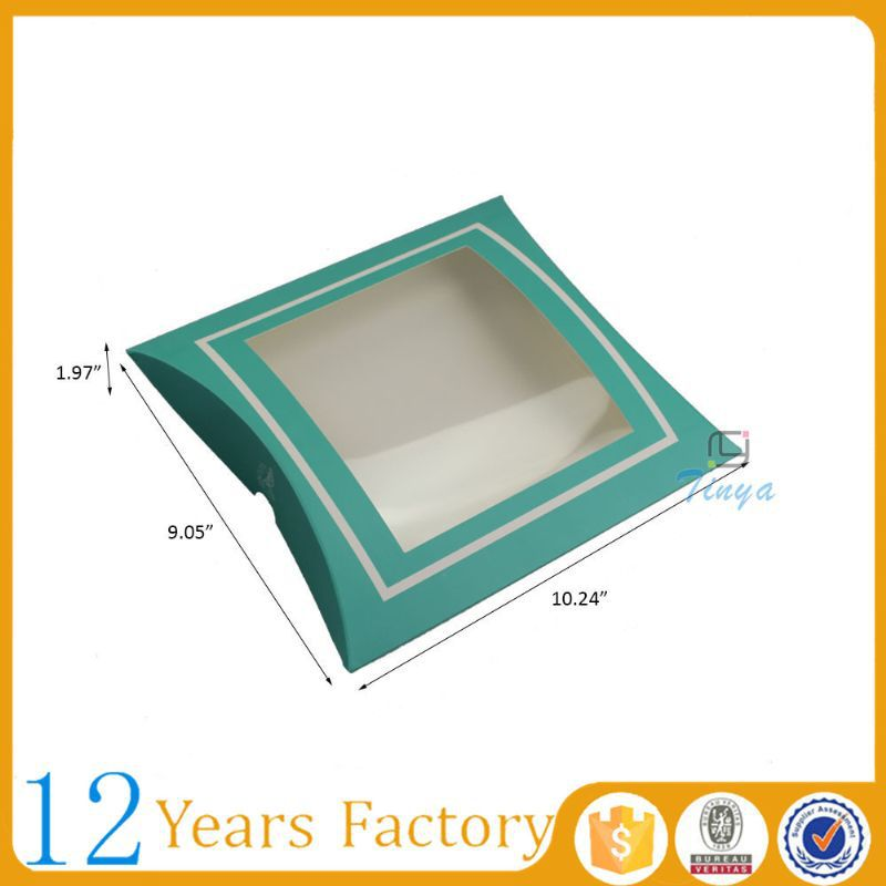 wholesale window favor pillow box gift