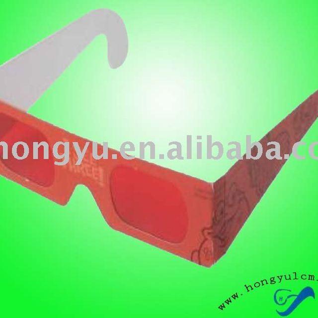 paper frame decoder 3D glasses