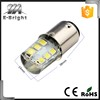 1156/1157 8000k silica gel flash up strobe 12v led light for car turn signal
