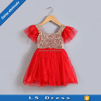 children frocks designs wholesale evening baby girl party boutique dress