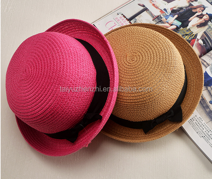 Various Colors Of Fad Ladies Good Quality Straw Hat