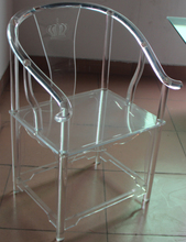 Ming Style Acrylic Chair