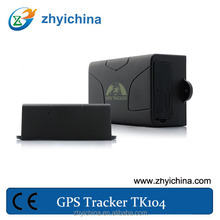 2014 online cell phone sim card gps tracker tk104 for avoiding kidnapping