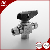 hydraulic ss316 kitz type threaded ball valve