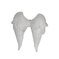 Christmas Hanging Wings Resin Angel Wall Decor