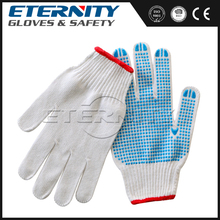 Hot sale abrasion resistant glove with safety dots