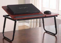 Portable Adjustable Foldable Computer Notebook Laptop Stand on bed, sofa or desk
