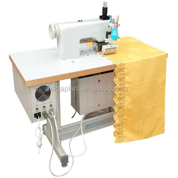 Ultrasonic lace making machine/shoe lace making machine