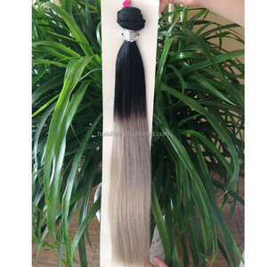 Best selling alibaba certified unprocessed cheap ombre full ends 100% brazilian human hair