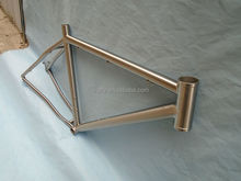 Shock price china titanium road bike frame manufacturer