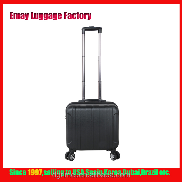 2016 high quality ABS trolley luggage bags Computer case travel roller laptop computer bags