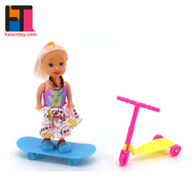 3.5 inches heavy body doll baby for kids girl