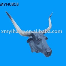 wall bull head decor