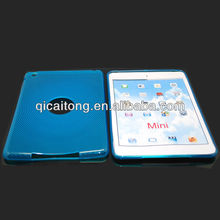 mobilephone tpu case with finger pattern for ipad mini