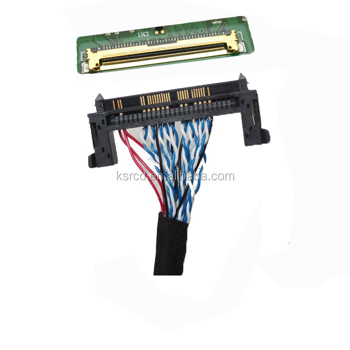 professional make custom lcd tv lvds extension cable