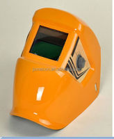 LCD Screen or Black Mirror attached in front of welding helmets