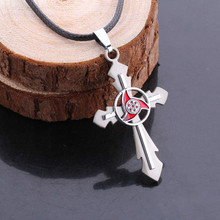 Beautiful Fashion Cross Pendant Necklace With Naruto accessories