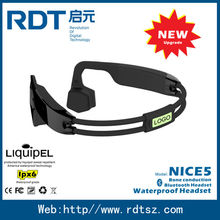 sport bone conduction headset,outdoor sports waterproof MP3 Player,MP3 Player for water sports