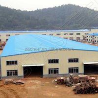 Simple construction design steel structure warehouse