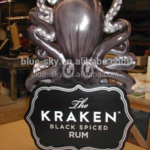 good quality artificial resin octopus sculpture octopus outdoor, resin decorative statue