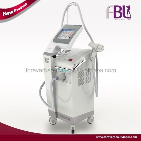 Two Spot Size 7mm and 10mm Air Cooling Handle Nd Yag Laser Hair Removal /Laser Spider Vein Removal