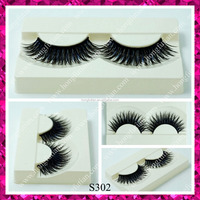 Hot sell korean synthetic hair false eyelashes; private label eyelash extensions