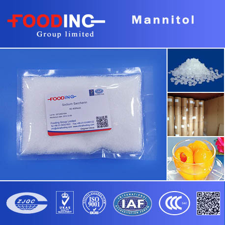 China buy low price food grade mannitol powder producer