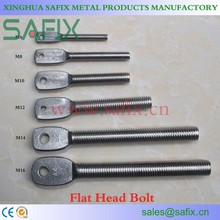 SS 201/304/316/316L/410 Flat Head Bolt/Adjustable Arm/Extension Arm