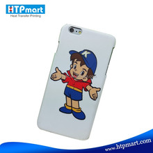 Hot Selling 3D Sublimation Rubber Phone Cases for iPhone6 Plus of Fast Delivery