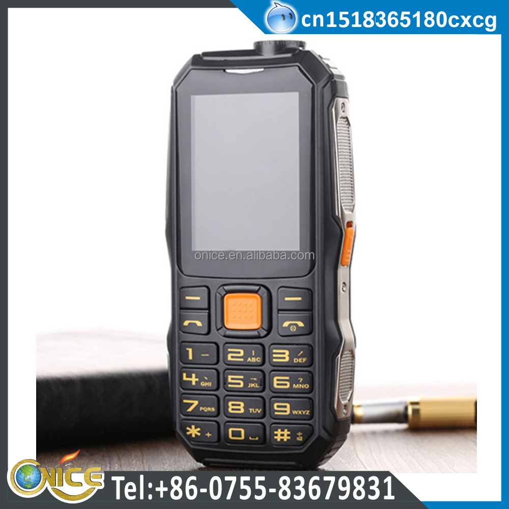 D1000 driving recorder function old man mobile phone with TV function dual SIM support FM 4800mah power bank