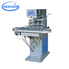 M4/C 4 color big size pad printing machine