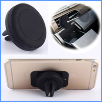 wholesale best selling mobile phone Car Holder 360 degrees Magnetic Air Vent Clip Mini Car Mount Holder Rotating for iPhone6s/sa
