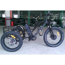 500w fat tire 3 wheel electric bike bicycle/ tricycle for adult with CE certification