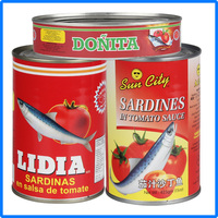 425g canned sardines fish supplier Chinese factory supplier