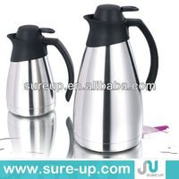 Double wall of refill double wall stainless steel 500ml mini coffee pot keep hot for 24 hours(JSUO)