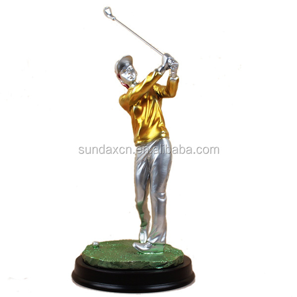 Resin Golfer Figurines / Other Resin Golf Sports Statues