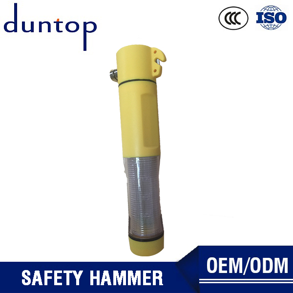 Duntop Emergency Window Breaking Tool Built In Led Flashlight Multifunction Car Safety Hammer