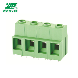 Mounting 600V/65A 12.7mm PCB Screw Terminal Block Connector(WJ116VK-12.7)