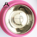 professional big size silicone pet bowl for wholesale