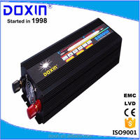 Factory direct selling doxin dc to ac home ups power inverter with battery charger