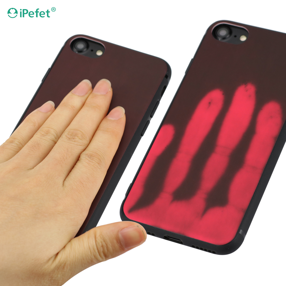 Hot sell thermal sensor heat sensitive color changing mobile phone case