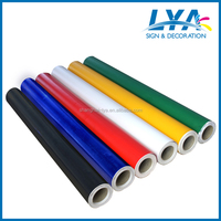 Digital and screen printing materials color pvc vinyl roll adhesive