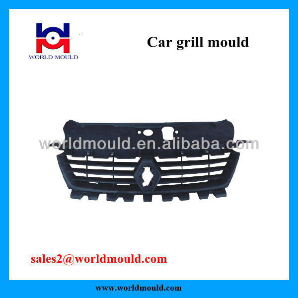 High Precision Auto Parts Grill Plastic Injection Molding