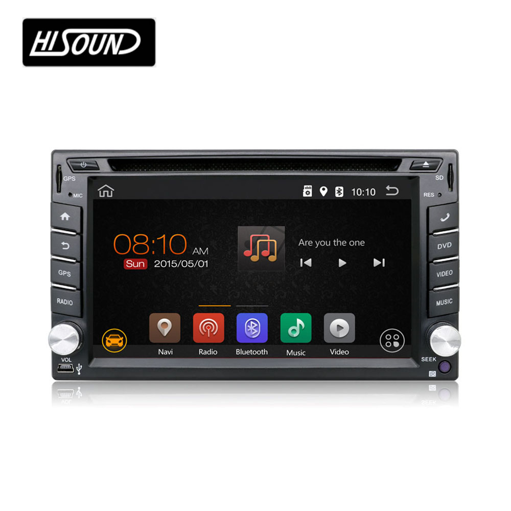 Cheap price DVD GPS BT <strong>D</strong>.TV 6.2'' touch screen android car radio 2 din