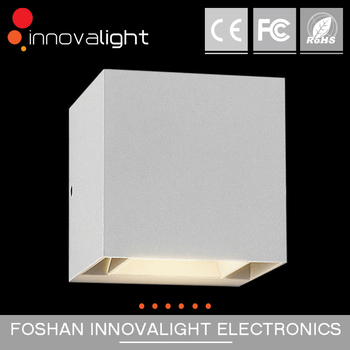 INNOVALIGHT indoor 2*5w led cube wall light adjustable wall lighting fixture