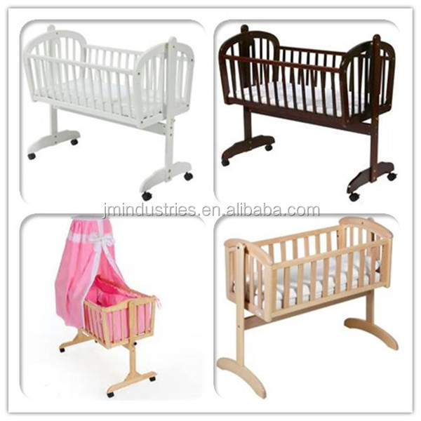 baby cradle/swing baby crib bed tc8022/wooden baby furniture