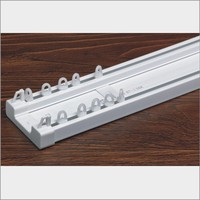 cheap prices sliding double curtain track