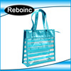 Waterproof pvc beach bag pvc tote bag handle shoulder strap sand beach bag vinyl pvc