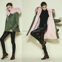 ladies fur hooded jacket snow 6xl fur lined hooded jackets woman pink short styles jackets